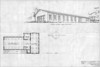 Floor Plan and Perspective from North-West