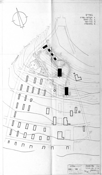 General Layout of Cultural Buildings and Facilities