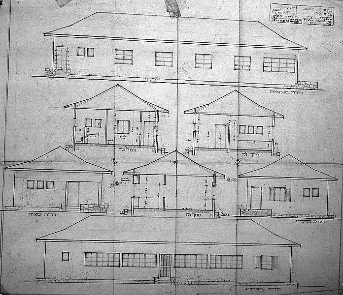 Babies' House - Elevations and Sections