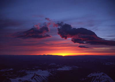 Mt Rainier sunrise, Washington