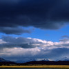 Clearing storm, central Patagonia, Chile