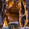 Canyon light on the Virgin River, Zion National Park, Utah