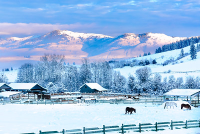 Methow Valley ranch, Washington