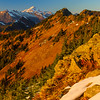 Glacier Peak in fall, Cascade Mountains, Washington