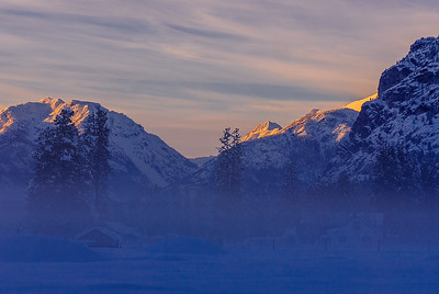 Methow Valley fog, Washington