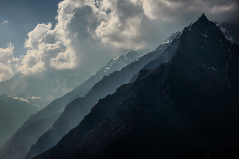 Ridges, Langtang Valley, Nepal