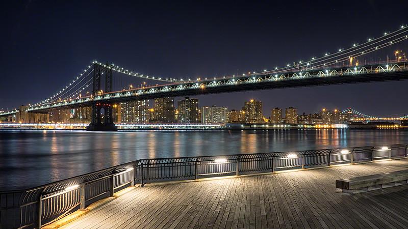By Manhattan Bridge