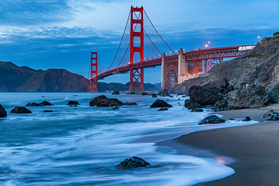 Golden Gate Bridge - blue hour