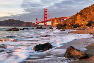 Golden Gate Bridge - sunset
