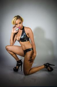 Jamaica latex halter top