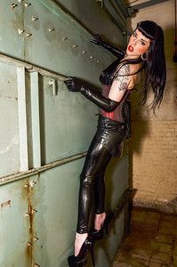 Second post apocalypse shoot with Renee - gasmask and all.