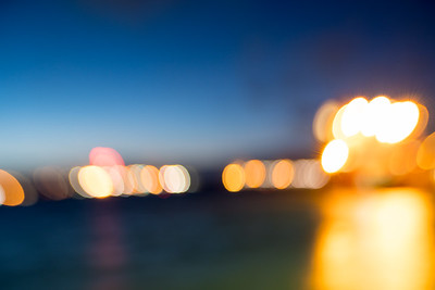 Blue Hour Bokeh