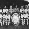 Season 1962-1963 Southern League Premier Division Championship winning side<br /> <br /> Back Row (left to right): Tommy Dawson, Jeff Suddards, Frank Cruickshank (manager), Roy Jones, Bill Heath, Reg Pearce, Alf Craig, Sammy Salt, Gil Anderson (assistant trainer). Front row: Alan Banks, Mike Benning, Tommy Wilson, Brian Moore, Albert Derrick, Willie Devine