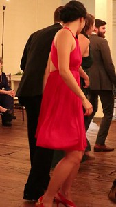 V and Z dancing at Chris and Sarah's wedding, Fort Worth, TX (Nov 2017)