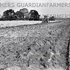 1st March 1985-The turned up soil reveals a fine tilth on Bole Hill as the ploughing progresses at R.Bowlers of Beighton Hill Farm, Ashley Hay near Worksworth.