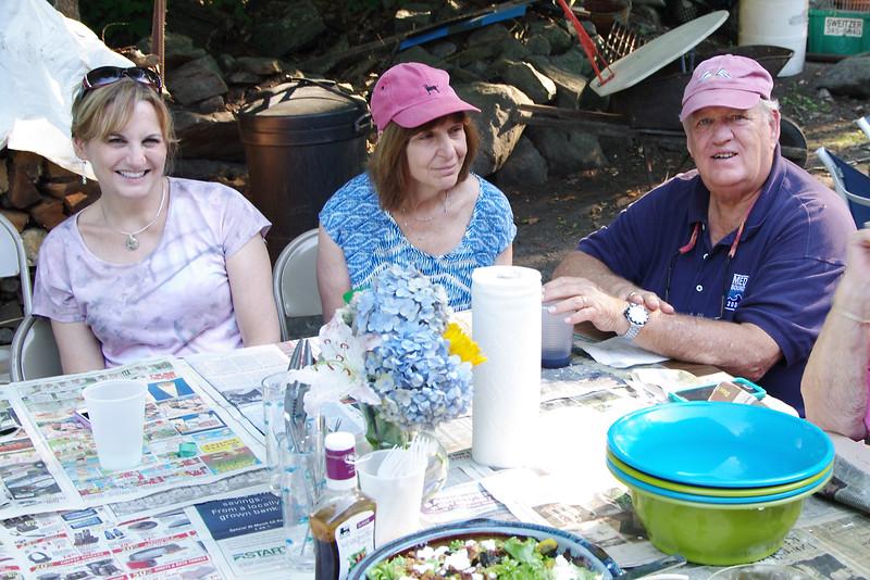 Tracy, Marge, Jim, Madison, CT (Aug 2015)