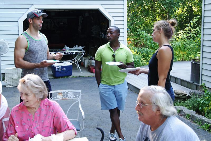Kitchie, Steve, Giorgio, Gerry, Laura, Madison, CT (Aug 2015)