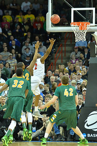 March 22, 2014: San Diego State Aztecs guard Xavier Thames (2) puts up a shot during a third round game of the NCAA Division I Men's Basketball Championship between the 4-seed San Diego State and the 12-seed North Dakota State at Spokane Arena in Spokane, Wash. San Diego State defeated North Dakota State 66-43 to advance to the Sweet Sixteen.