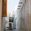 Backstreets view of the Muharraq quarter of Manama, Bahrain.