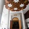 Entrance of the Beit al Quran mosque in Manama, Bahrain.