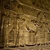 Architectural scene from Kalabsha Temple near Aswan, Egypt.