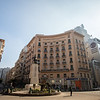European-style architecture at the heart of Cairo, Egypt.