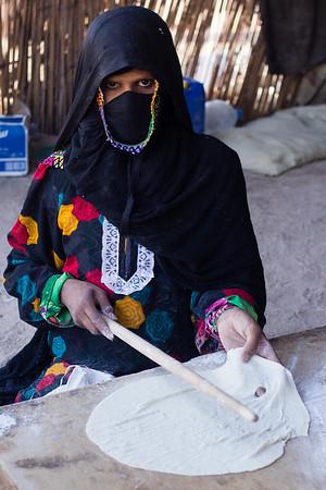 Bedouin portrait.