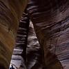 Hiking the Wadi Numeira Siq Trail in Jordan's Dead Sea region.