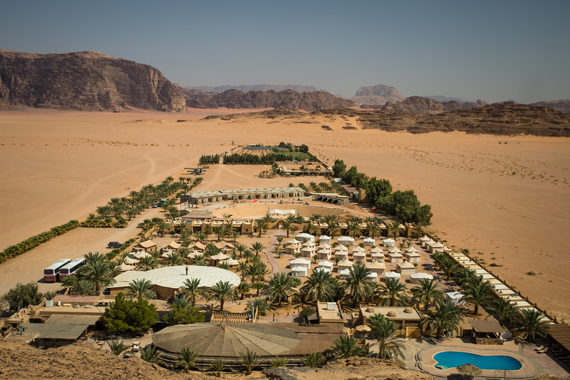 Bait Ali Desert Camp in Wadi Rum, Jordan.