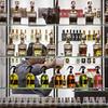 Perfume vendor near the Mubarakiya market in Kuwait City.