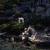 Ruins of the Sunken City Kekova.