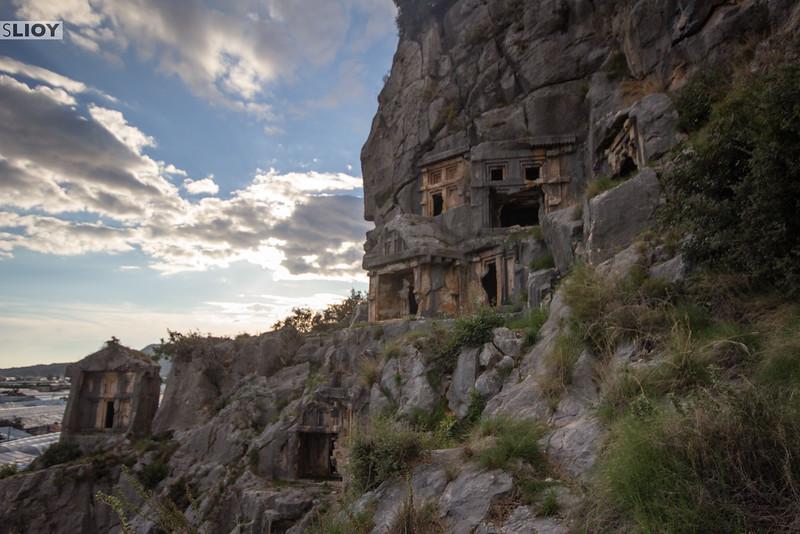 The Rock Tombs of Myra.