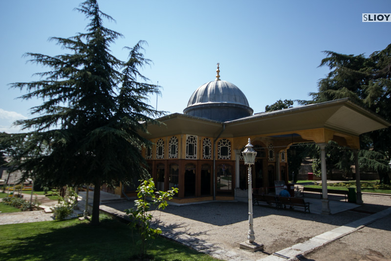 outside aynalikavak pavilion