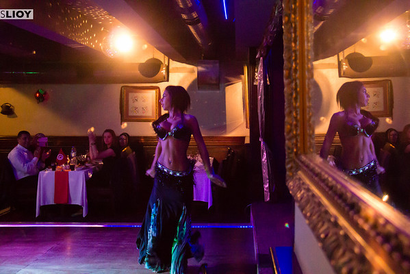Istanbul Belly Dance Dinner Show at 1001 Nights in Turkey.