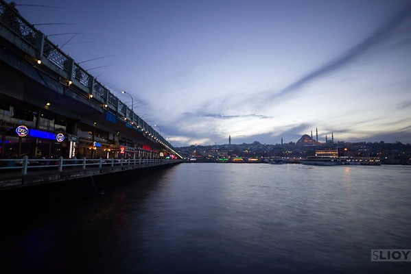 Galata Bridge Long-Exposure