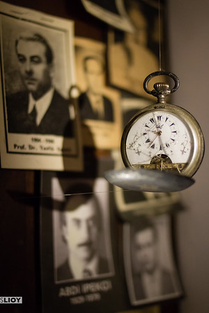 Time always ticking at the Museum of Innocence in Istanbul.