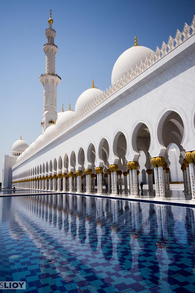 Sheikh Zayed Grand Mosque.