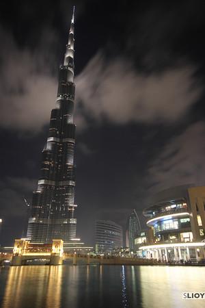 burj khalifa and the mall of dubai