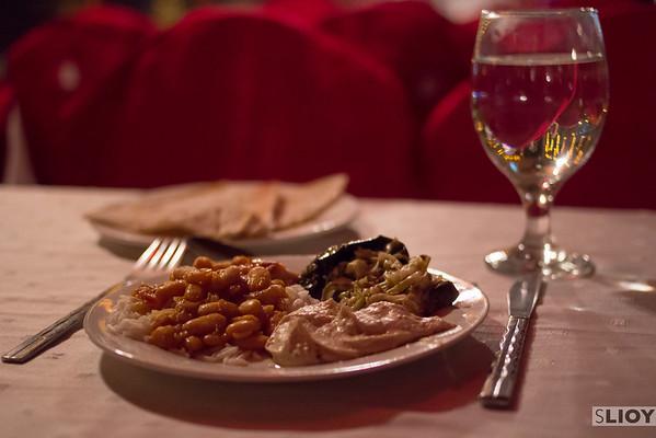 Eating Indian Food in Dubai