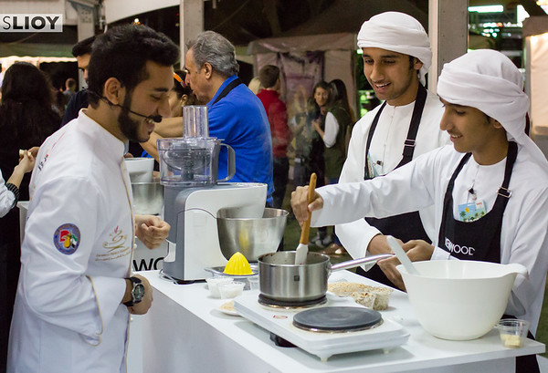 Chef Bader at Taste of Duba