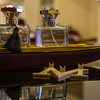 Arabian perfume at Melis restaurant in Dubai Mall.