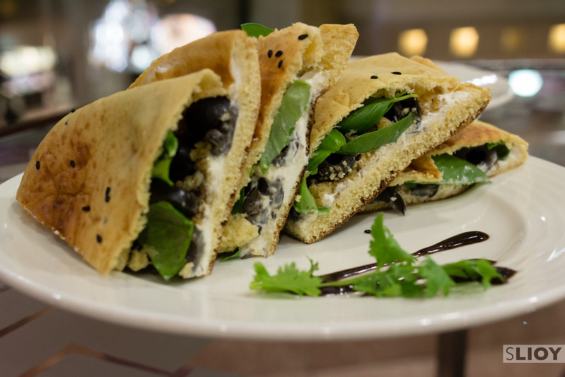 Modern Emirati food at Mama Tani restaurant in Dubai.