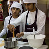 An Emirati cooking class at the Taste of Dubai festival.