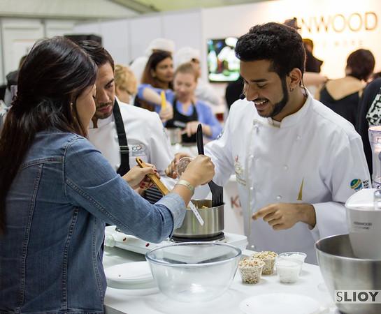 The Kenwood Cooking School with Chef Bader Najeeb Al Awadhi at  Taste of Dubai festival.