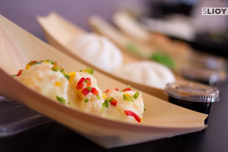 Steamed Thai food in Dubai.