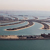 Palm Jumeirah, Atlantis Hotel, and Dubai Marina as spotted from a helicopter tour of the city.