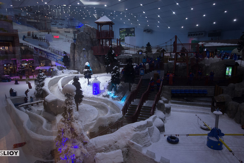 mall of dubai: ski dubai