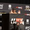 UFC 262 Olivera vs Chandler Official Weigh-ins