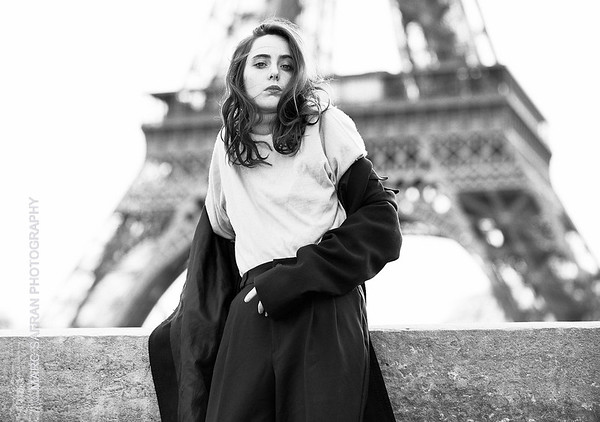 Charlotte Vallin - Paris model
