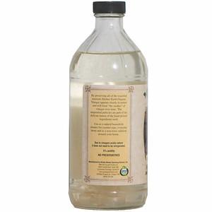 MEV White Vinegar 16 oz  non sku side